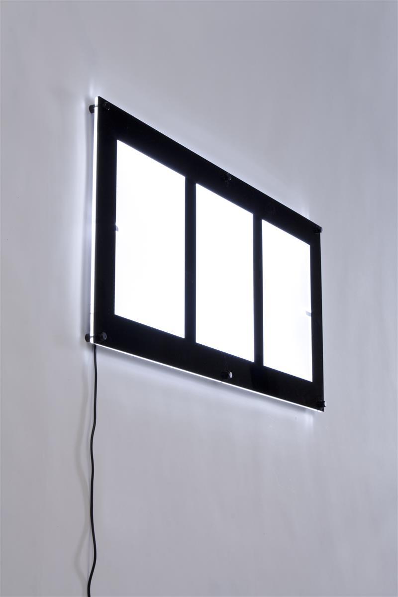 Led Display Sign 3 8 5 X 11 Black Frames