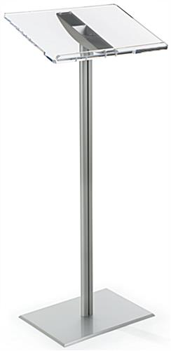Basic Lectern with Clear Acrylic Reading Surface