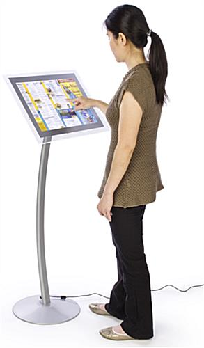 "Menu Stand Illuminates 17"" x 11"" Signs"
