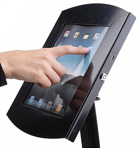 iPad Kiosk Enclosure