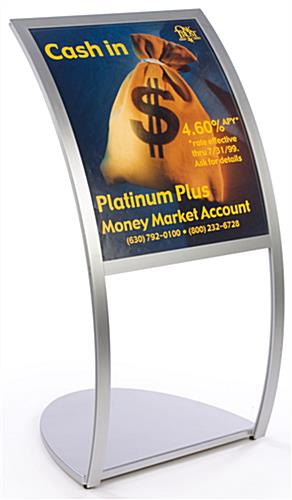 "Sign Frames: Hold 22"" x 28"" Graphics"