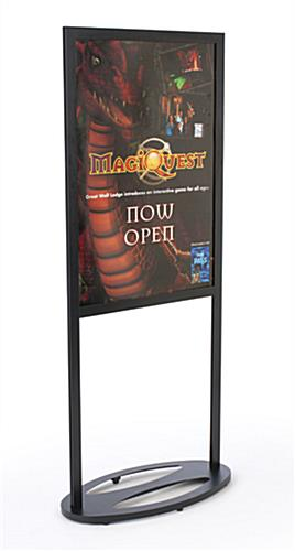 Top Loading Sign Stand With 2 Viewable Sides