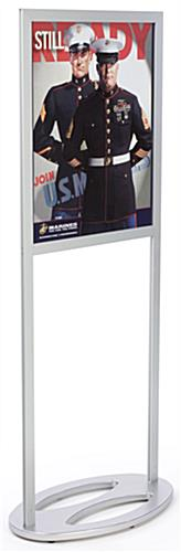 "Sign Frames: Accomodate 22"" x 28"" Graphics"