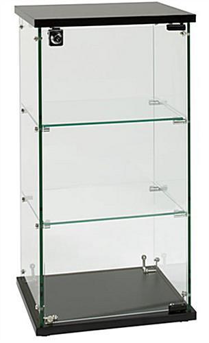 Countertop Glass Display Case 2 Shelves