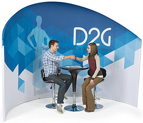 Trade Show Furniture and Graphics Kit for Meetings