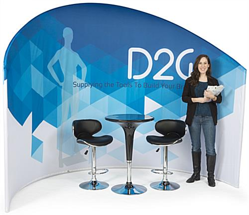 Trade Show Furniture and Graphics Kit for Exhibit Booths