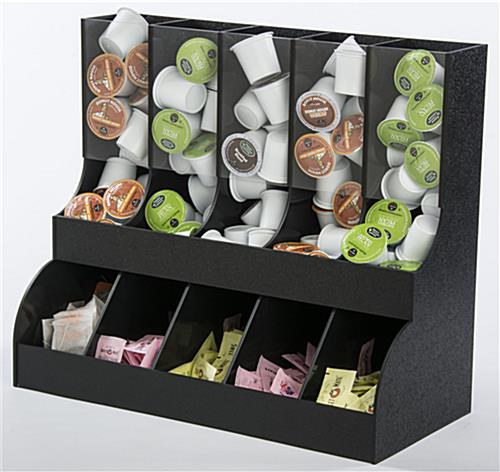 K Cup 174 Stand Coffee And Sweetener Organizer