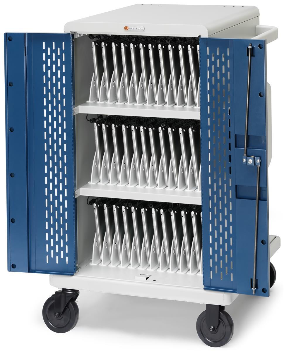 Laptop Charging Cart | Rotating Power Distribution