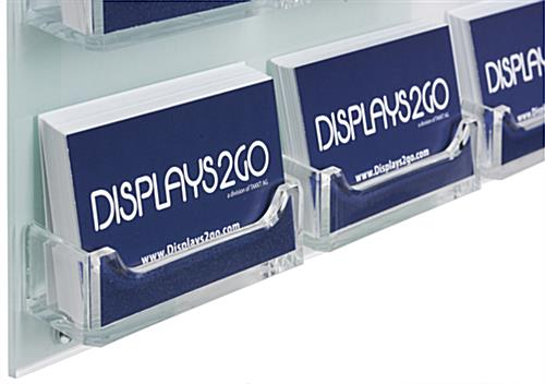 Branded Business Card Rack, Custom Printing