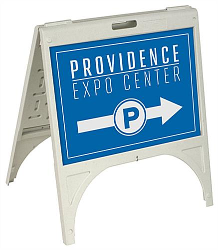 "UV Printed 24"" x 17"" Custom A-Frame Sign"