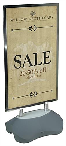 "UV Graphic 24"" x 39"" Custom Sandwich Board"