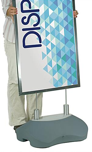 Easily Assembled Custom Sidewalk Sign