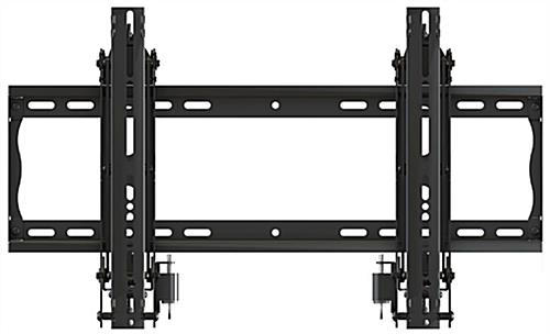 Video Wall System Mounting Bracket with Integrated Leveling