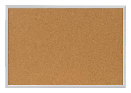 3 39 x 2 39 cork board in frame with aluminum frame