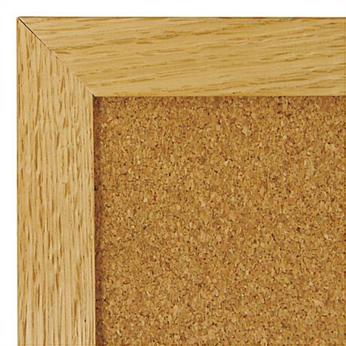 4\' x 4\' Framed Cork Bulletin Board - Classroom & Office Use