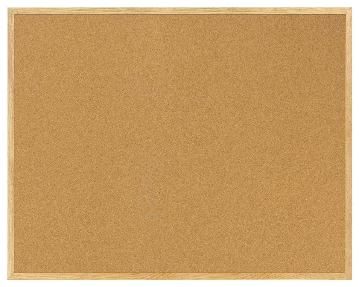 Wood Framed Bulletin Board 5 39 X 4 39 Pin Board