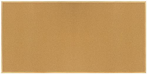 8 X 4 Oak Tack Board Natural Wooden Frame