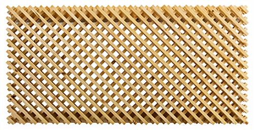 3D designer wooden lattice slatwall