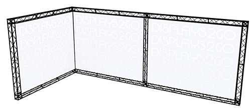 "Portable Exhibit Truss Display, 231.50"" Overall Width"
