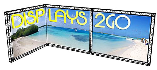 Trade Show Truss Booth Kit, Double Sided