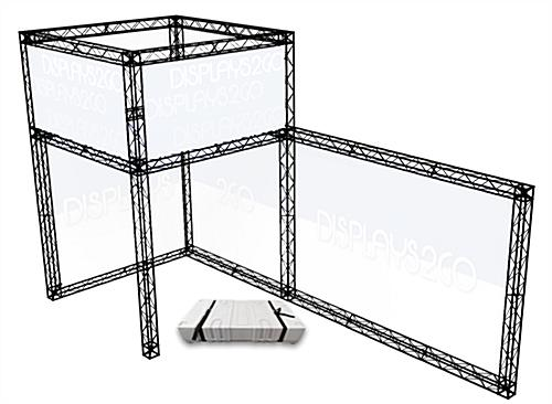 "Portable Truss Exhibit, 94.70"" Overall Depth"