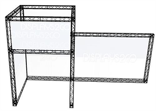 Portable Truss Exhibit, Black