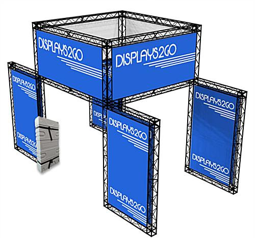 "All-In-One Exhibition Truss System, 47"" Header Height"
