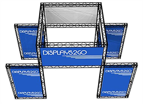 Trade Show Booth Truss Kit, Fiberglass