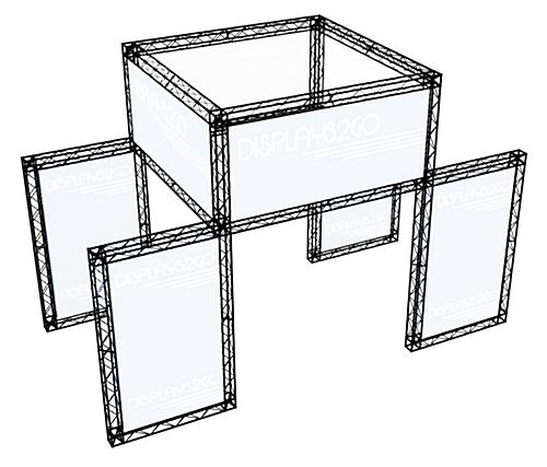 Trade Show Booth Truss System, Black