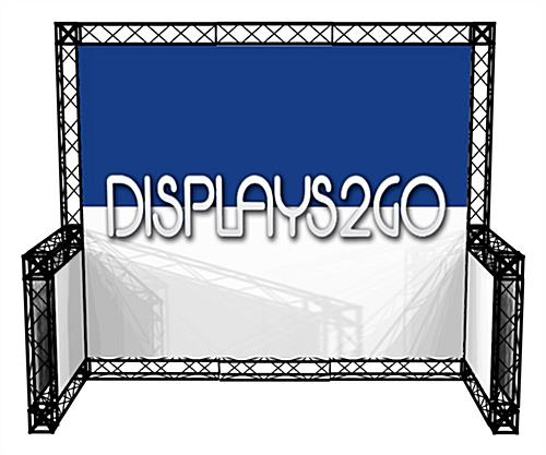 10 x 10 Truss Trade Show Display, Easy to Assemble