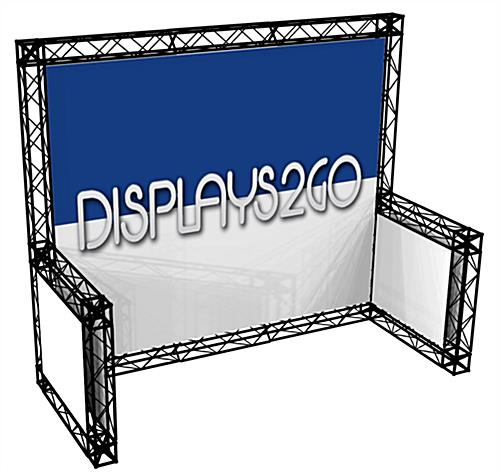 10 x 10 Truss Trade Show Display, Black