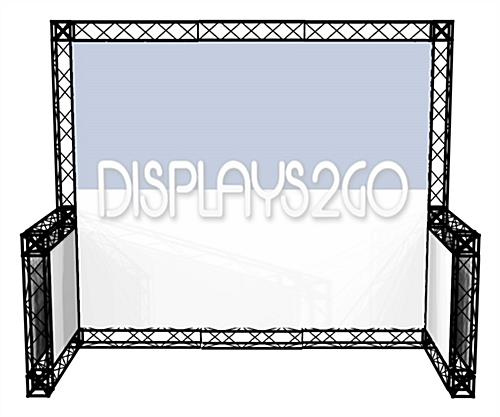 10 x 10 Truss Trade Show Booth, Portable