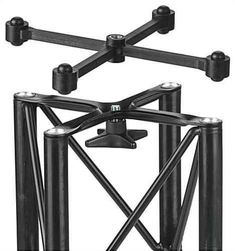 "Portable Truss Exhibit Tower, 8.5"" Case Height"