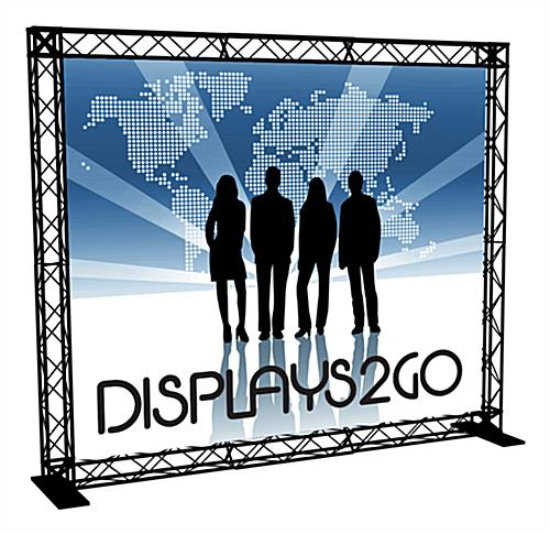 "10' Truss Trade Show Booth, 113"" Overall Width"