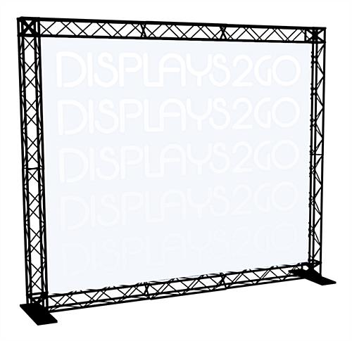 10' Trade Show Truss Display, Black