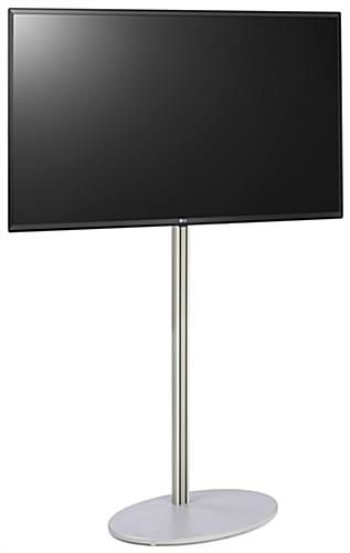 Aluminum digital signage with 49 inch tv and LG SuperSign software