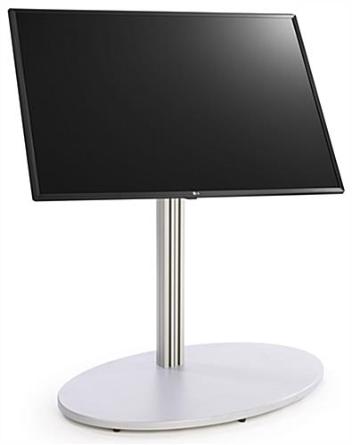 Digital directory kiosk with rubberized feet for protection and stability