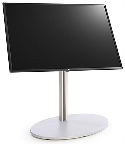 All in one digital sign stand with LG SuperSign software built-in