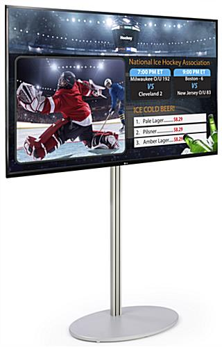 "55"" Electronic Digital Signage Package"