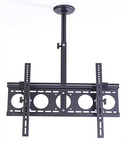 "Hanging mount for 55"" electronic signage display"