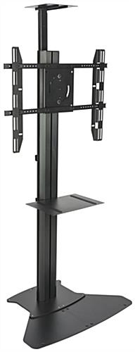 "Height Adjustbale Stand with 55"" Digital Sign Monitor"