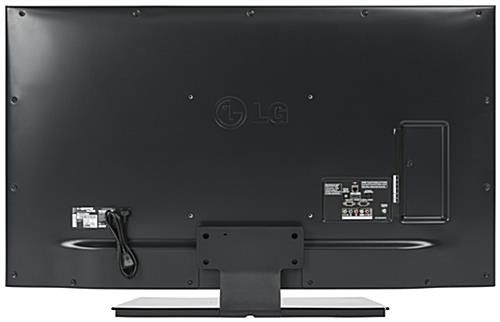 "Back View of 55"" Digital Sign Monitor"