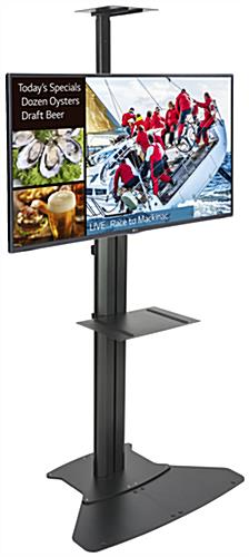 Digital Sign with Stand, Black Finish