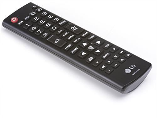 Remote for Rolling Digital Signage Display