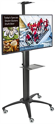 Portable Digital Sign Package, Black Finish