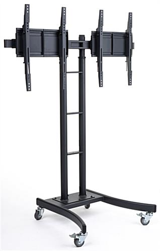 Dual Electronic Poster Stand with Two Mounts