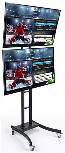 "(2) 55"" HDTVs Portable Digital Signage Boards"