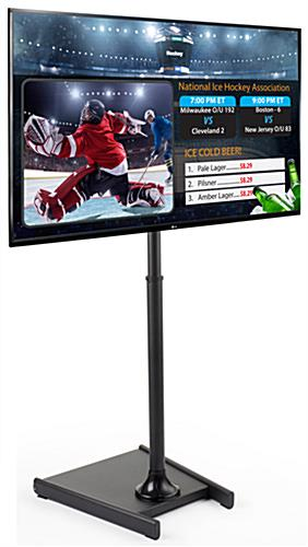 "55"" LG TV Digital Directory Sign"