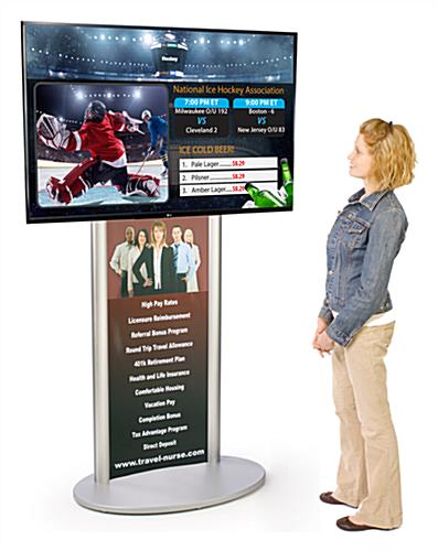 Digital Advertising TV Bundle 49""