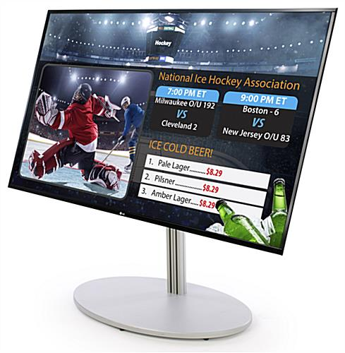 "55"" LG HDTV for Advertising Digital Directory Sign Set"